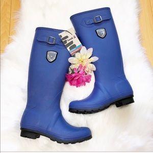 Kamik Rain Boots Royal Blue size 6